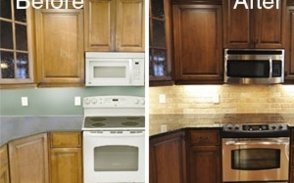 Superb Cabinet Color Change By Nhance Of Pinecrest In Miami Fl Download Free Architecture Designs Crovemadebymaigaardcom