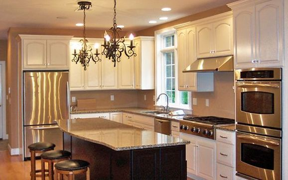 Give your kitchen a brand new look with our cabinet refinishing services. Save money by having our professional painters refinish your current kitchen ...
