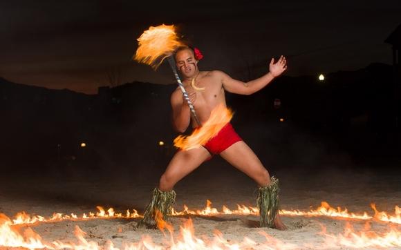 Polynesian Cultural lesson e g  fire knife dancing by Ohana