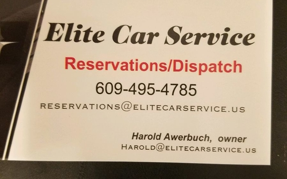 Professional transportation services by Elite Car Service, LLC in