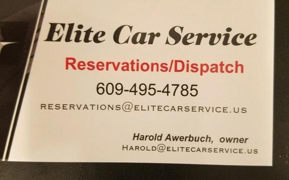 Professional transportation services by Elite Car Service