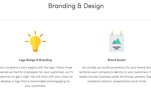 Logo Design & Branding: Your company's story begins with the logo. Many times it serves as the first impression for your customers, so it's important to get ...