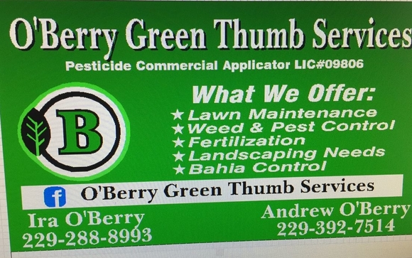 Weed control,fertilization,pest control by OBerrys Green