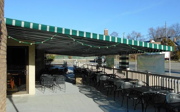 Contact A. Hoffman Awning Co & Outdoor Patio Awnings for Restaurants u0026 Cafes by A. Hoffman Awning ...