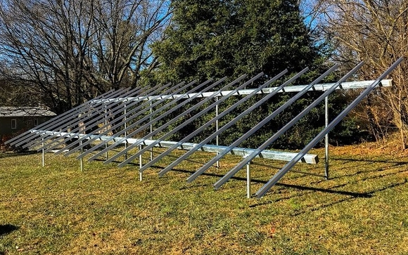 Solar Ground Mount Racking Installations by Solar Foundations USA