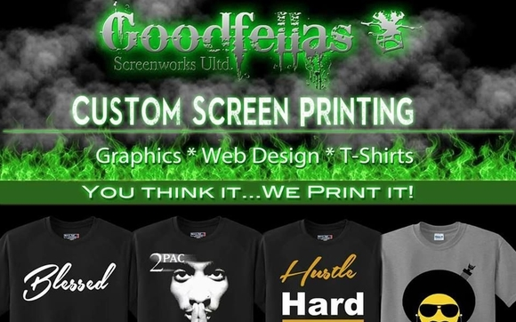 bbb0b0e7 T-shirts and Graphics by Goodfellas Screenworks Unlimited in Atlanta ...