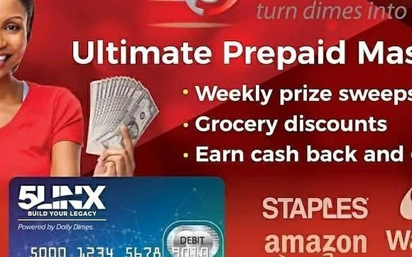 Daily Dimes reward MasterCard by 5linx net/L584510 in
