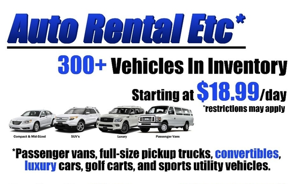 Car Rental Lafayette La >> Commercial Truck Van And Car Rental Available By Auto Rental Etc
