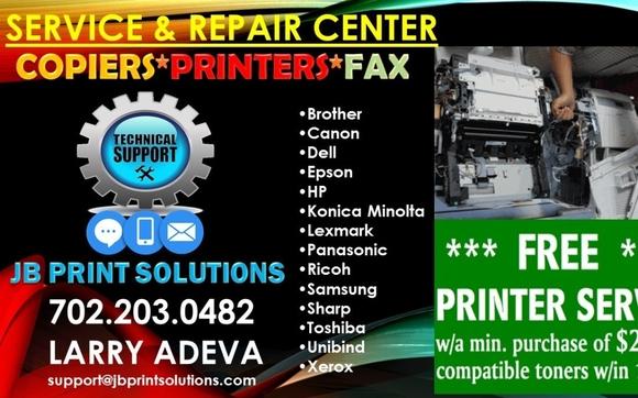 SERVICE & REPAIR - Copiers | Printers | Fax Machines