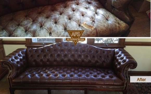 Furniture Restoration Leather Dyeing Upholstery Repair