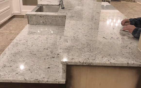 Granite fabrication and installation by Modern Stone Design in