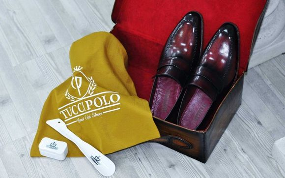 592fc20f117 TucciPolo Alvaro Handmade Mens Burgundy Stylish Loafers Italian Leather Shoe  - Stylish loafer shoes in calfskin with burgundy handpolish bleached effect.