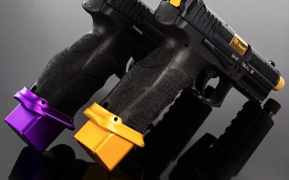Slide Plate Cover VP9, VP9SK & VP40 - HK Purple by HK Parts in
