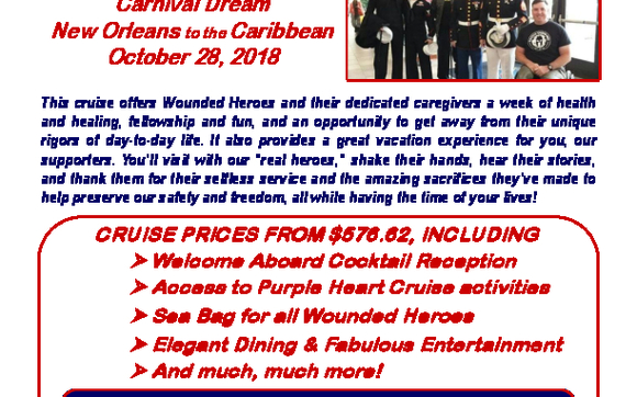 Purple Heart Cruise for our Warriors by Cruisinbob in