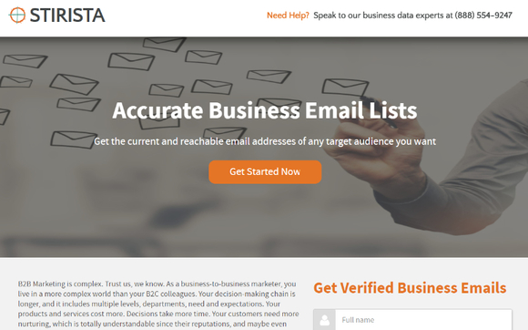 B2B and B2C Business Email Lists by Stirista Global LLC in