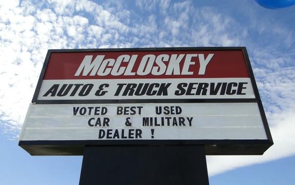 Contact McCloskey Motors