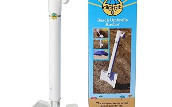 Best beach umbrella anchor by dig-git Beach Gear inc  in