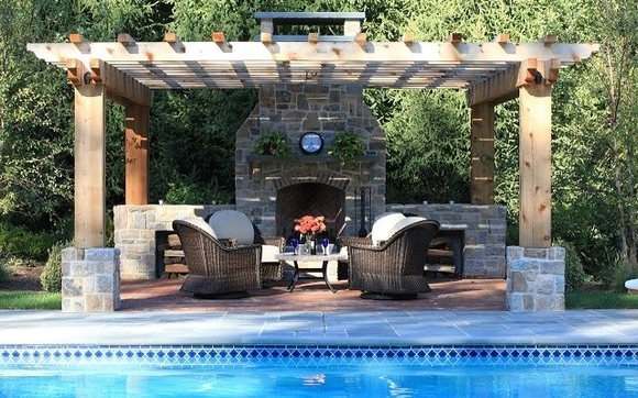 Selah Pools Outdoor Kitchens Firepit Fireplace Pergola
