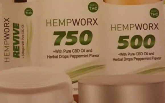 Hempworx CBD oil creams and pet products by Direct sales manger in