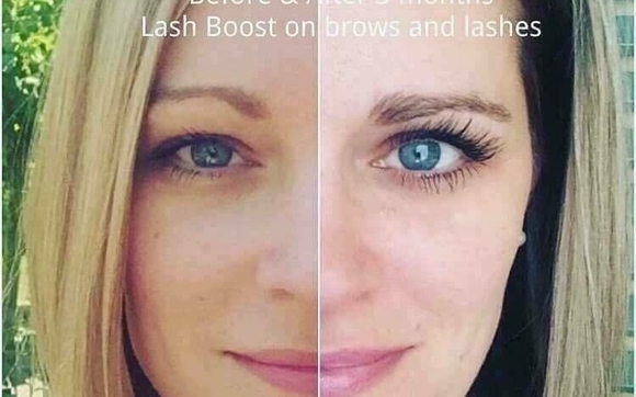 dcd69a16134 Get the appearance of lush, longer-looking lashes in as little as four  weeks with ENHANCEMENTS Lash Boost™.* This nightly eyelash-conditioning  serum ...