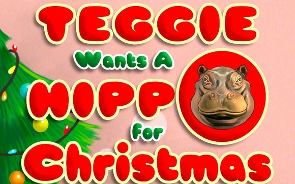 Hippo For Christmas.Teggie Wants A Hippo For Christmas By Claudette Melanson In