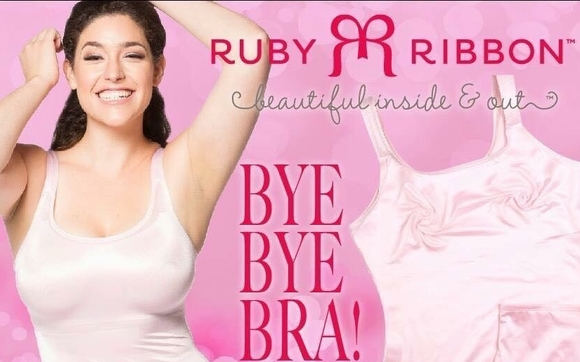 506a14d2a770e Our Ruby Ribbon Cami is truly revolutionary! It takes the place of a bra