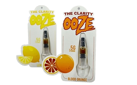 1000 Custom Printed Blister Packaging for  5ml Syringe Universal CBD