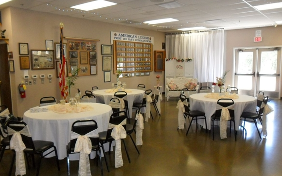 Hall for Rent by American Legion Post 119 in Placerville, CA