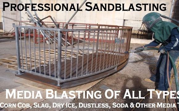 Sandblasting & Abrasive Blasting Services by Lightning