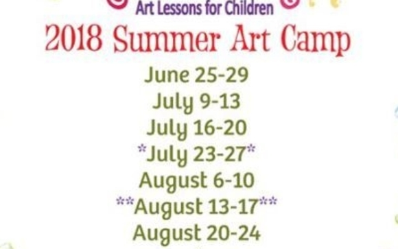 Summer Art Camp by Colorful Kids, Art Lessons for Children in