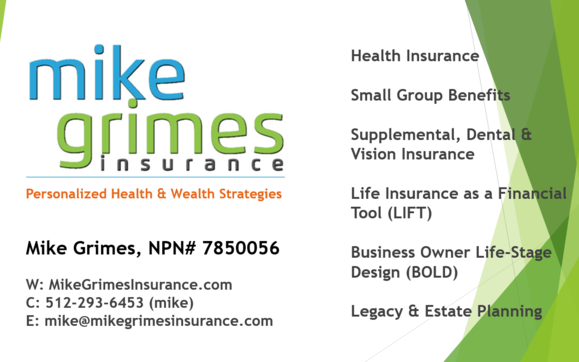 Free Health Insurance Review and Assessment by Mike Grimes