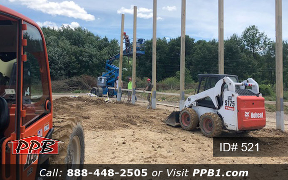 Setting Posts One at a Time by Pioneer Pole Buildings, Inc