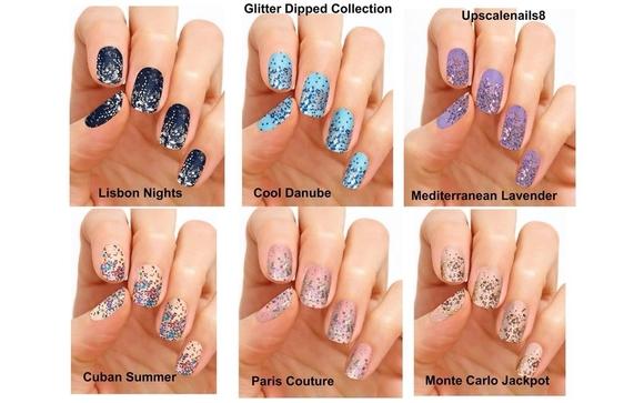 Glitter-Dipped Nail Polish Strips! by Color Street Nail Polish ...
