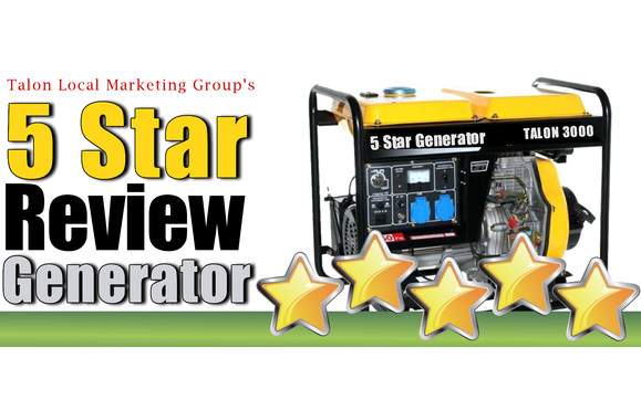 5 Star Customer Review Generator by Talon Local Marketing