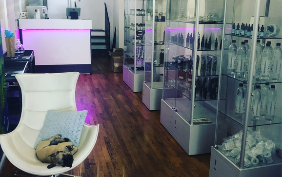 Alkaline water and CBD dispensary by Hydration Station BK in