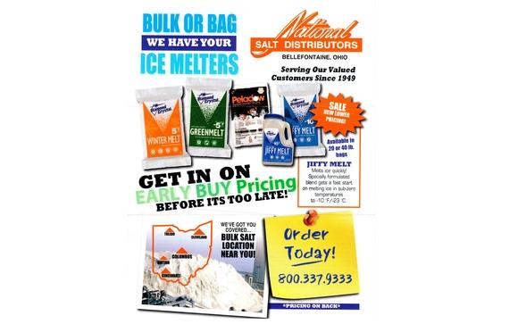 Deicing Salt by National Salt Distributors, Inc  in