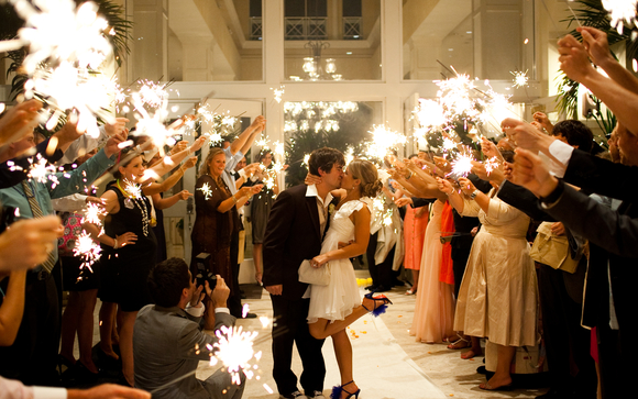 36 Inch Gold Wedding Sparklers By Buysparklers Com In San Antonio