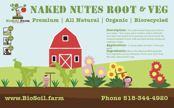 Naked Nutes - Root & Veg by BioSoil Farm in Schenectady, NY
