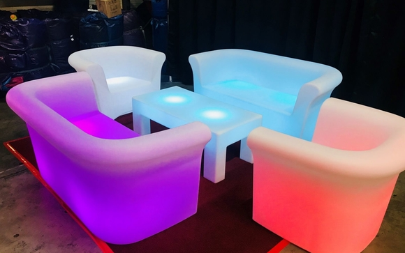 Led Party Furniture Rentals By Inflatable Event Professionals In