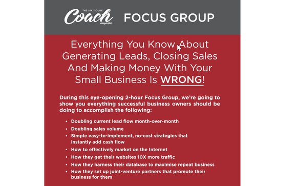 Kernersville Business Focus Group by Doresa Ibrahim 💥 Strategic