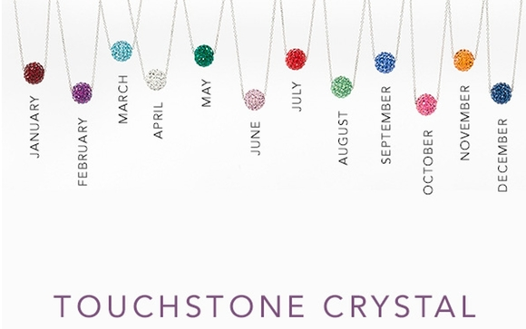75e9a5b9a249a Birthstone Necklaces by Champagne and Sparkles with Touchstone ...