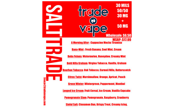 Salt Trade by Trade N Vape in Winston Salem, NC - Alignable