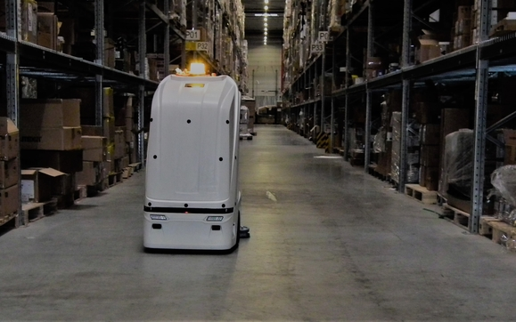RI AutoMop - the autonomous cleaning robot by Robotics Inventions in