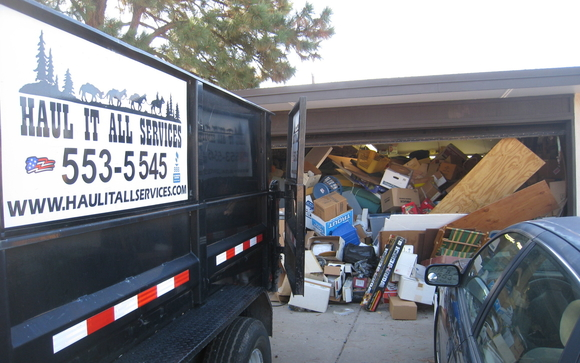 Junk Removal and Hauling Company by Haul It All Services in