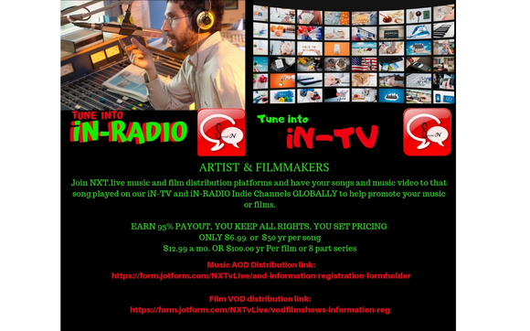 GLOBAL Music and Film Distribution   NXT live's SocialiN live by