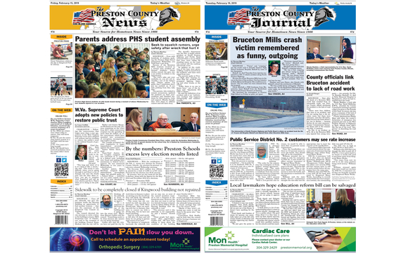 The Preston News & Journal by Advertising Representative at