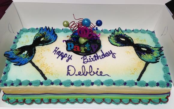Mardi Gras Birthday Cake by Baskin-Robbins in Richmond, VA - Alignable