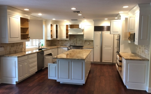 Cabinet Refacing By Master Painter Llc In Altamonte Springs Fl