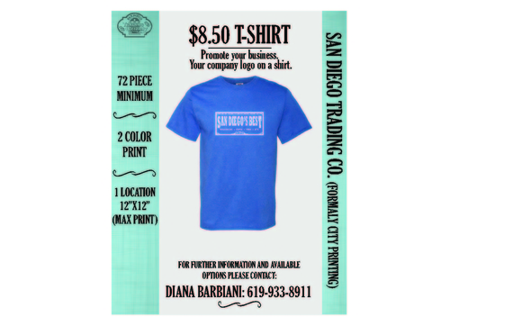 4409c2a2 PROMOTIONAL T-SHIRTS FOR YOUR BUSINESS by SD TRADING CO in Chula ...
