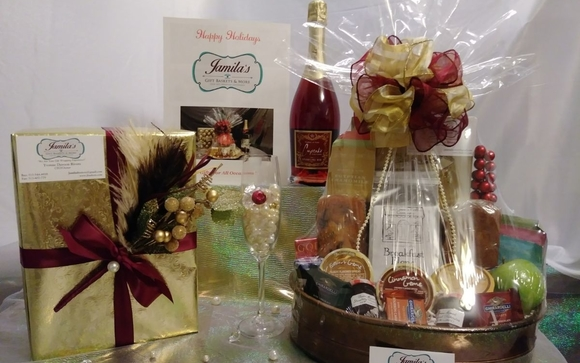 Contact Jamilau0027s Gift Baskets and More LLC & Elegant Tea and Coffee Baskets by Jamilau0027s Gift Baskets and More ...